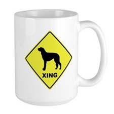 Scottish Deerhound Crossing Mug