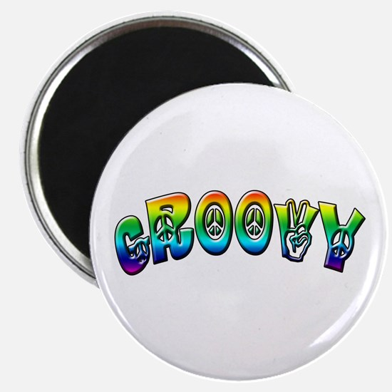 """Groovy 2.25"""" Magnet (10 pack)"""