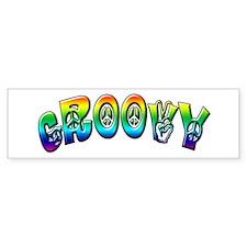 Groovy Bumper Bumper Sticker