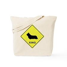 Skye Terrier Crossing Tote Bag