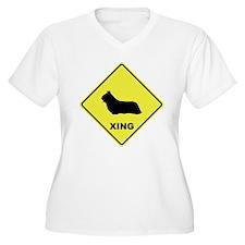 Skye Terrier Crossing T-Shirt