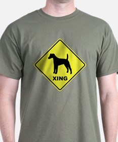 Fox Terrier Crossing T-Shirt