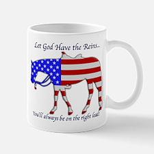 Let God have the Reins Mug