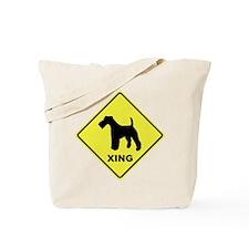 Foxie Crossing Tote Bag