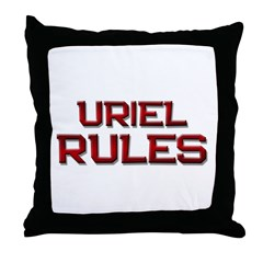 uriel rules Throw Pillow