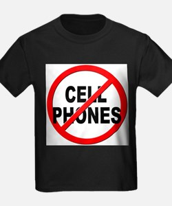 Anti / No Cell Phones T-Shirt