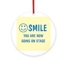 Smile! :) Ornament (Round)