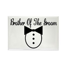 Brother of the Groom Rectangle Magnet