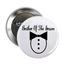 "Brother of the Groom 2.25"" Button"