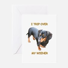 I Trip Wiener Greeting Cards (Pk of 10)