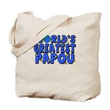 World's Greatest Papou Tote Bag
