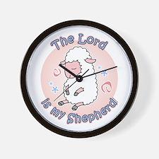 Lord Is My Shepherd Wall Clock