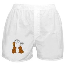 Funny Chocolate Bunnies Boxer Shorts