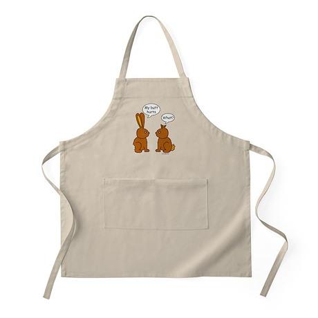 Funny Chocolate Bunnies BBQ Apron