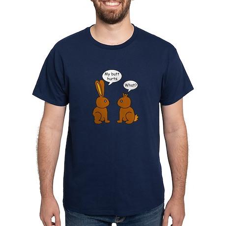 Funny Chocolate Bunnies Dark T-Shirt