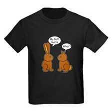 Funny Chocolate Bunnies T