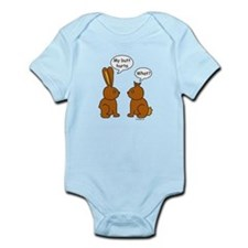 Funny Chocolate Bunnies Infant Bodysuit