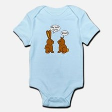 Funny Chocolate Bunnies Infant Bodysuit