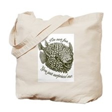 Not Fat/Surprised - Tote Bag