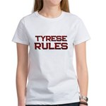 tyrese rules Women's T-Shirt