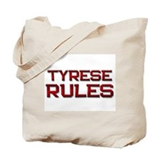 tyrese rules Tote Bag