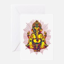 Power of Ganesh Greeting Card