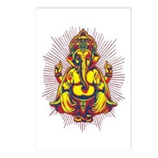 Power of Ganesh Postcards (Package of 8)