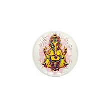 Power of Ganesh Mini Button