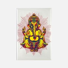 Power of Ganesh Rectangle Magnet (100 pack)