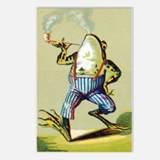 Funny Frogs Postcards (Package of 8)