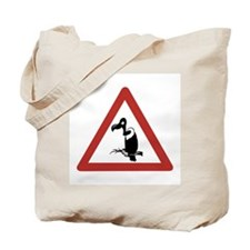 Caution Vultures, Namibia Tote Bag