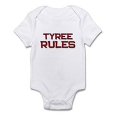 tyree rules Infant Bodysuit