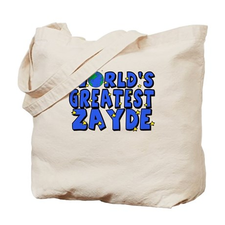 World's Greatest Zayde Tote Bag