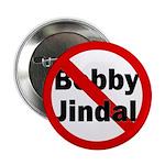 Red Slash Through Bobby Jindal Button