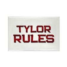 tylor rules Rectangle Magnet