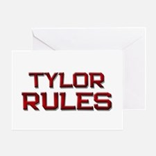 tylor rules Greeting Card