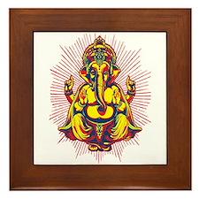 Power of Ganesh Framed Tile