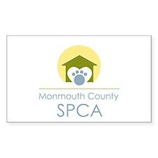 MCSPCA Logo Rectangle Decal