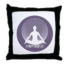 Namaste-Calm Throw Pillow