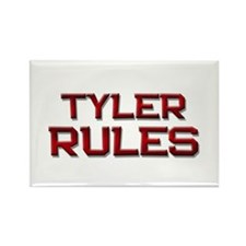 tyler rules Rectangle Magnet