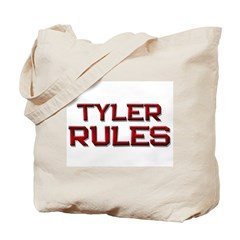 tyler rules Tote Bag