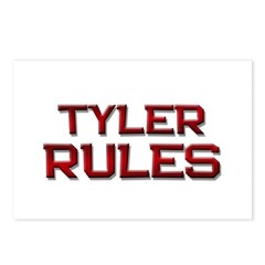 tyler rules Postcards (Package of 8)