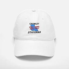 crowley louisiana - been there, done that Baseball Baseball Cap