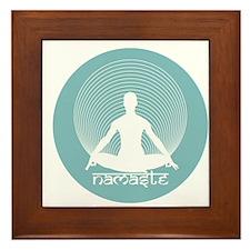 Namaste-Calm Framed Tile