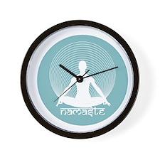 Namaste-Calm Wall Clock