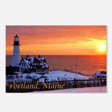 Cute Portland maine Postcards (Package of 8)