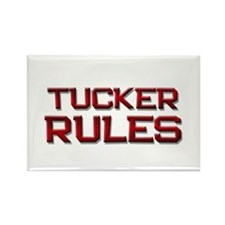 tucker rules Rectangle Magnet