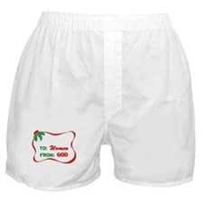 God's Gift To Women Boxer Shorts