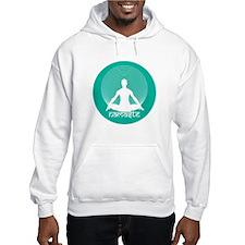 Namaste-Calm Aqua Hoodie