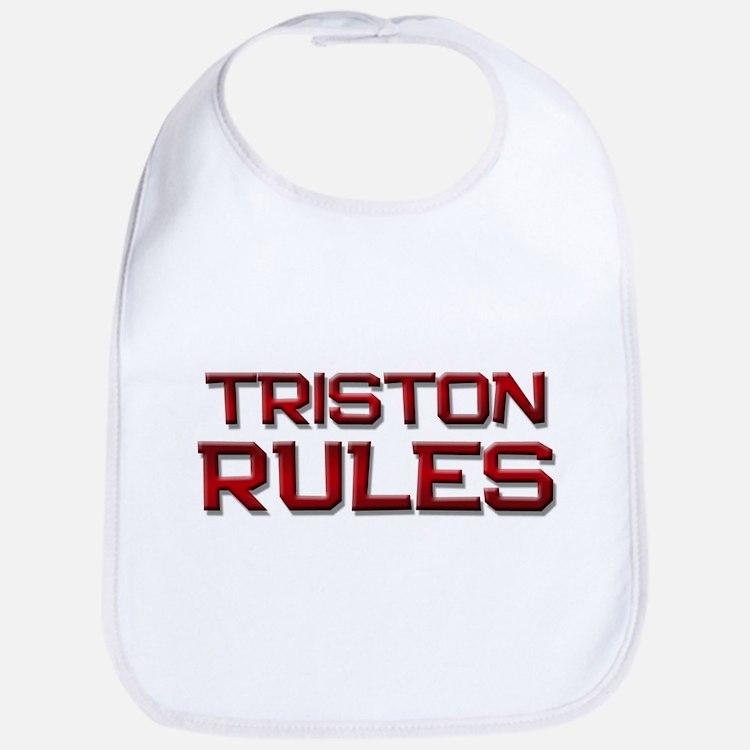 triston rules Bib